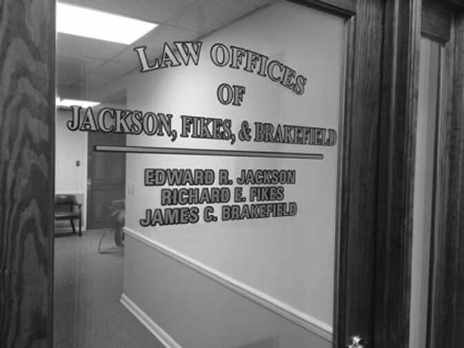 Front Door Logo of The Law Offices Of Jackson, Fikes & Brakefield