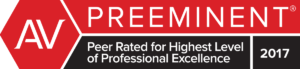 Preeminent Highest Level of Professional Excellence rating for Jackson, Fikes & Brakefield